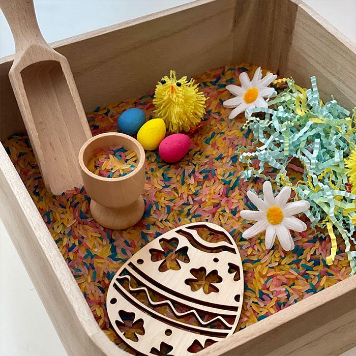Easter Theme Sensory